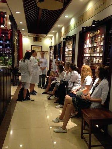 En attente hOpital de Nanjing