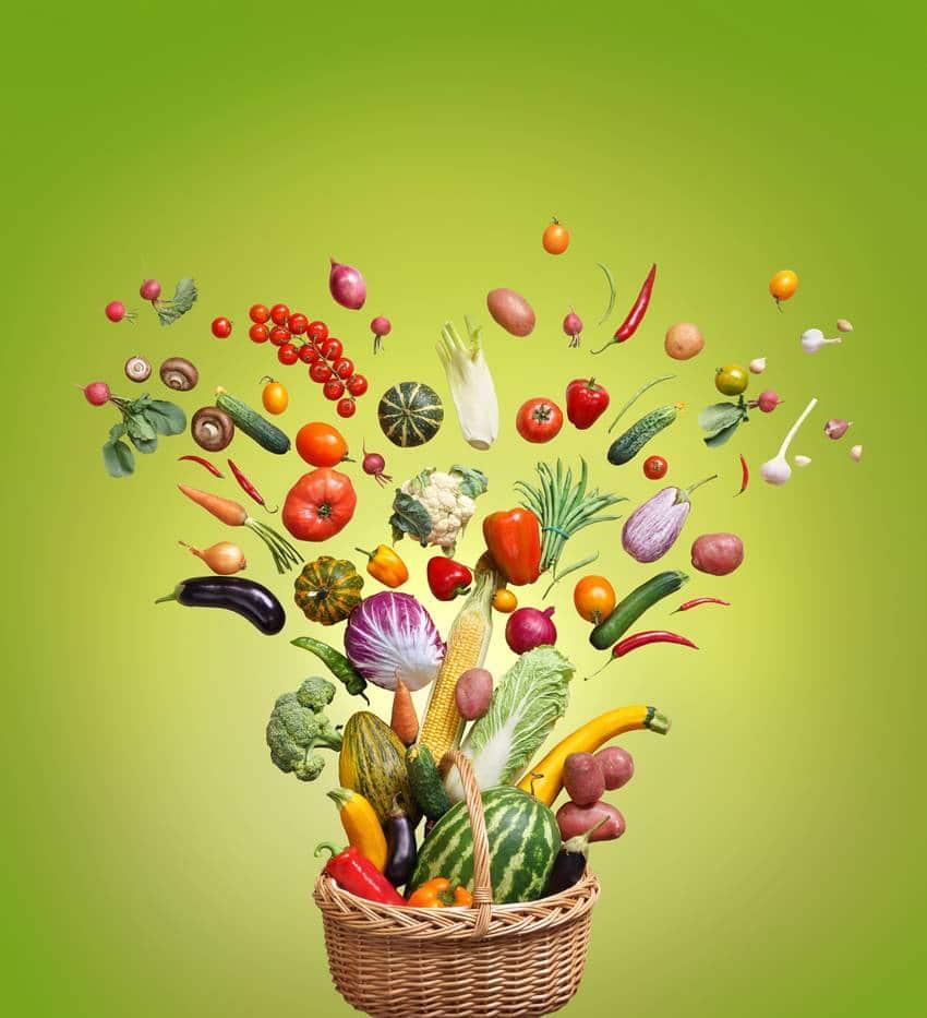 fruits legumes frais